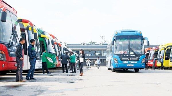 Lộ trình 5 tuyến xe từ Bến xe Nước Ngầm đến Chiêm Hóa