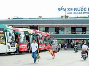 Lộ trình 8 tuyến xe từ Bến xe Nước Ngầm đến Ninh Bình
