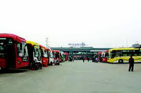Lộ trình 5 tuyến xe từ Bến xe Nước Ngầm đến Tuyên Quang