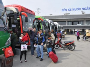 Lộ trình 7 tuyến xe từ BX Nước Ngầm đến BX Thái Bình
