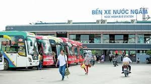 Lịch xe xuất bến từ Bến xe nước ngầm đi các tỉnh